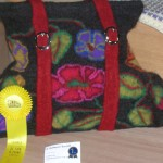 Felted Getaway Satchel Prize winner
