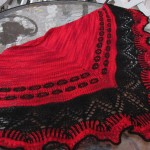 Flamenco Knit Shawl