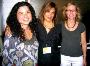 Sarah Shun-lien Bynum, Barbara DeMarco-Barrett and Susan Straight